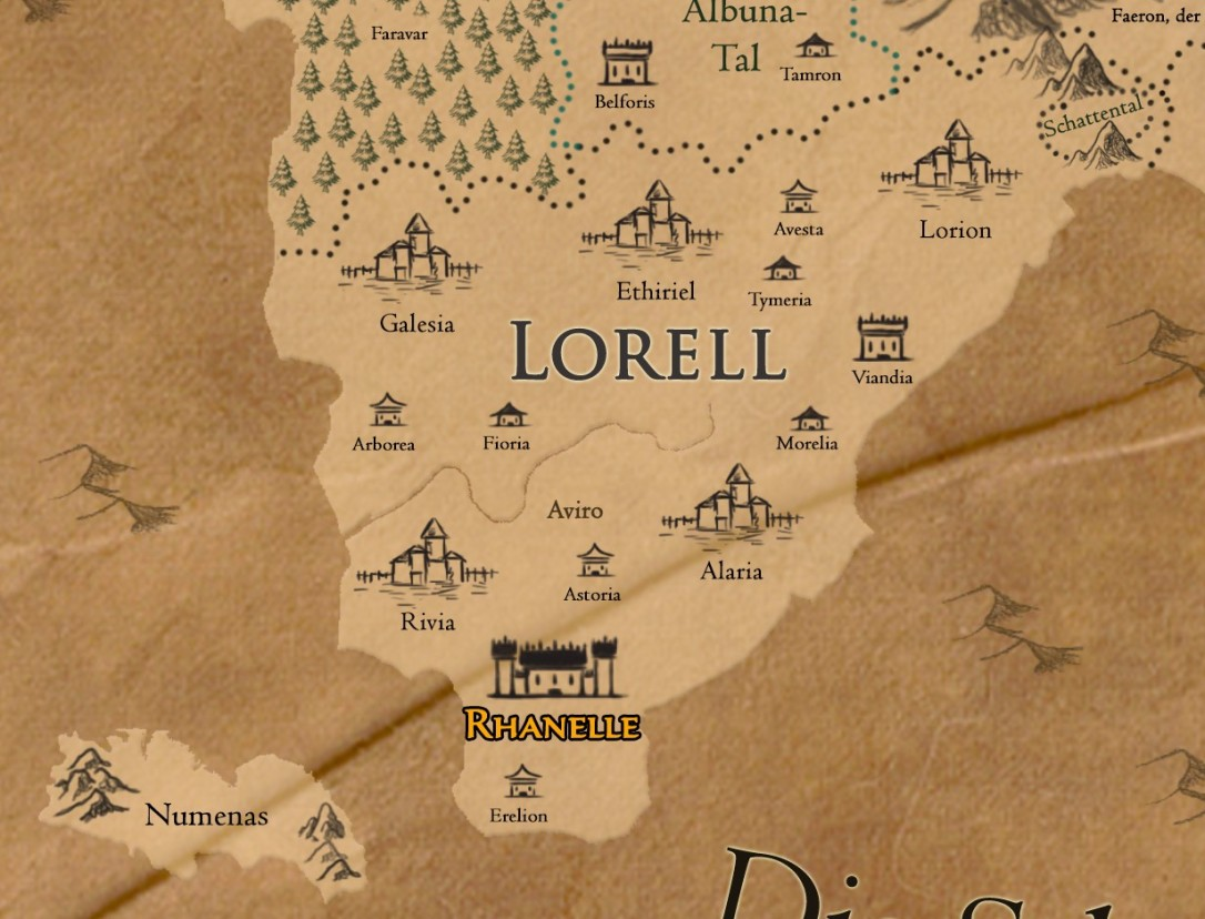 Terrastras Ancient - Lorell